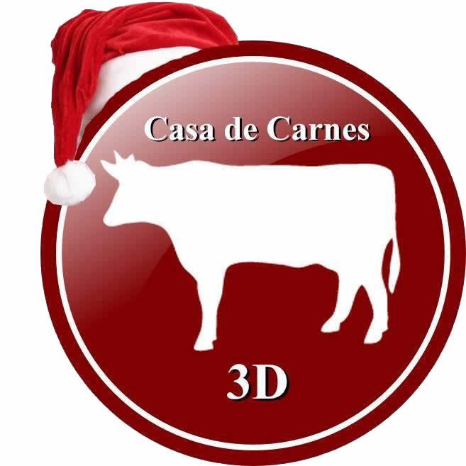 Logo CASA DE CARNES 3D
